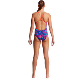 Funkita Single Strap One Piece Traje de Baño Mujer, tech suit